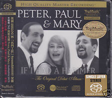 Peter Paul & Mary The Original Debut Album Self-titled Audiophile SACD CD Sealed