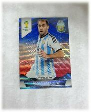 2014 Panini Prizm World Cup Blue Red Wave Pablo Zabaleta - Argentina #7