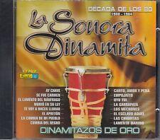 La Sonora Dinamita Decada de Los 80 1980-1984 CD New Nuevo sealed