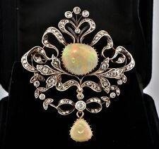 18 Carat Yellow Gold Opal Victorian Fine Jewellery