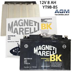Batteria Magneti Marelli YT9B-BS Moto Per Yamaha XP T-Max 500 cc anni: 2004>2007