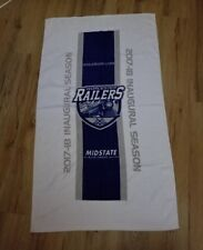 Worcester Railers HC Hockey Club ECHL Inaugural Season TOWEL 42 x 24 rare New