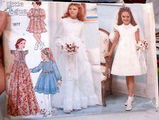 VOGUE  Sewing pattern NO.1877 GIRL'S COMMUNION DRESS 14