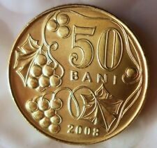 2008 MOLDOVA 50 BANI - AU/UNC - VERY Hard to Find - FREE SHIPPING - BIN #HHH