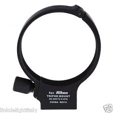 Black Metal Lens Tripod Mount Ring for Nikon AF-S 80-200mm f/2.8 D ED