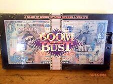 ~VINTAGE BOOM OR BUST BOARD GAME - SEALED & UNUSED-MONEY, STOCKS, SHARES, WEALTH