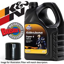 Honda CBR 600 F2 2002 Super4 Oil & K&N Filter