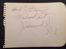 Cards & Papers 1946 Peter Donald Vintage Original Signature Autograph Paper A199