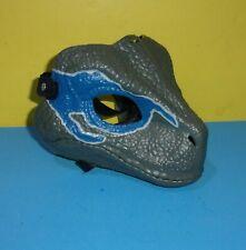 Jurassic World Jw Dino Rivals Velociraptor Raptor Blue Dinosaur Cosplay Mask