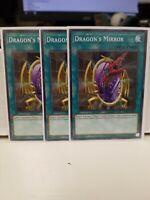 Details about  /Yugioh CRV-EN040 Dragon/'s Mirror Light Play YGAA13 Common