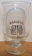 BAILEYS Irish Cream Small Footed Liquere Shot Glass Gold Tone Celtic