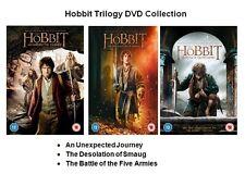 HOBBIT TRILOGY DVD Unexpected Journey Desolation of Smaug Battle Five Armies New