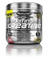 Muscletech, Essential Series, Platinum 100% Creatine, Unflavored, 14.11oz (400g)