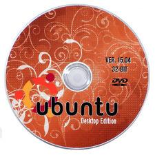 Ubuntu Desktop Linux - Ver 15.04 - 64 Bit - Complete Installation DVD