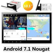 """10.1"""" ANDROID 7.1 OREO QUAD CORE 1024*600 DOUBLE 2 DIN TABLET CAR STEREO RADIO"""