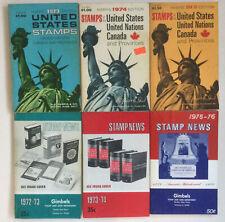 Gimbels Stamp News & Harris Stamp Catalogs 1972 - 1976