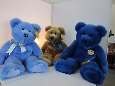 3 TY CLUB Beanie Buddies  - Great for Holiday Gifts