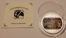 Cook Islands 20 $ Masterpieces of Art 2008 Sandro Botticelli - Venus 3oz