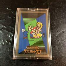 NINTENDO Super Mario Yoshi Peach Luigi Trump Deck Card Complete JAPAN RARE