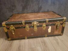 New listing Vintage Steamer Herkert & Meisel Trunk