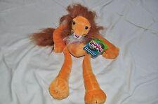 Stuffed Animal Slumpers African Cat Toys Berk  Lion 1999 Plush Toy Retired New