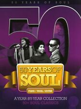 50 Years of Soul Learn PLAY James Brown BLUES Piano Guitar PVG Music Book