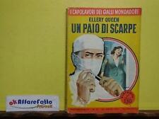L 3.301 LIBRO UN PAIO DI SCARPE DI ELLERY QUEEN 1957