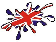 HOME NATIONS A5 FLAG SPLATS IRON ON TRANSFERS ENGLAND SCOTLAND IRELAND WALES A5