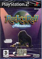 Rock n Roll Adventures PS2 PLAYSTATION 2 Neu und Versiegelt Italienisch