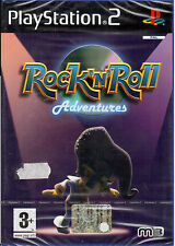 ROCK N ROLL ADVENTURES PS2 PLAYSTATION 2 NEW AND SEALED ITALIAN