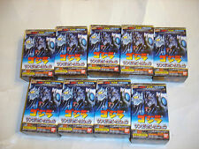 Bandai 2003 Godzilla Capsule 9 Figure Lot MIB Sofubi Collection w/box Gashapon