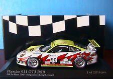 PORSCHE 911 GT3 RSR #90 24 H LE MANS 2005 BERGMEISTER J MINICHAMPS 400056490