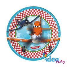 PIATTI PLANES 19 cm - addobbi tavola Disney festa compleanno bambino 8 pz