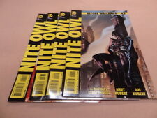 DC COMICS BEFORE WATCHMAN -  NITE OWL 1,2,3, & 4