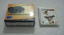 TRENDNET 4 PORT BROADBAND ROUTER and FREE PS3 2KSPORTS MAJOR LEAGUE BASEBALL!