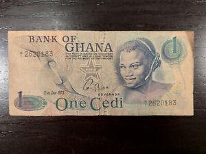 Ghana 1 Cedis 1973, P-13