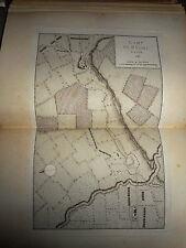 53 - CARTE MAP PLANS Campagne ITALIE 1745 & 1746 BRONI LA STRADELLA 1775