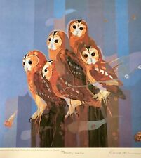 Lars Knudsen Australian Birds Limited Edition Print Signed, Numbered, Titled