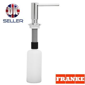 FRANKE SOAP WASHING UP LIQUID DISPENSER CHROME FREE DELIVERY GENUINE NEW BOXED!!