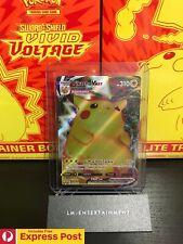 POKEMON TCG CARD VIVID VOLTAGE PIKACHU VMAX 044/185 ULTRA RARE NEAR MINT