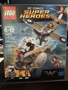LEGO DC Comics Super Heroes Wonder Woman Warrior Battle 2017 (76075) sealed