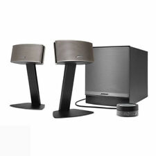Bose TRS/Audio Jack Black Home Speakers & Subwoofers