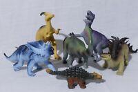 Lot of 6 Ankyo Dinosaur Figures Toys