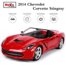 Maisto 1/24 Scale 2014 Chevrolet Corvette Stingray Convertible Car Diecast Model