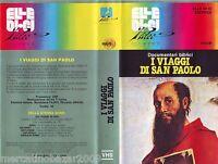 I VIAGGI DI SAN PAOLO (1990) VHS 1ª EDIZIONE INEDITA IN HOME VIDEO RARA