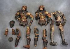 McFarlane Toys Predator 2 & AvP Figure Lot For Custom Parts or Repair