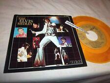 ELVIS PRESLEY-THE ELVIS MEDLEY-LONG/SHORT-RCA JB 13351 NM/VG+ GOLD VINYL 45+PS
