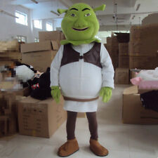 Halloween The Shrek Mascot Costume Cosplay Party Game Fancy Dress Suits Clothing