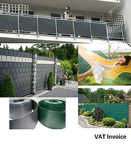 Privacy Garden Fence Mesh Panel Cover Balcony Shade Screen Sunshade Tape Strips