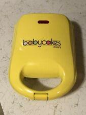 Babycakes Donut Maker DNM-30   Makes 4 Mini Donuts   Non-stick   Very Good Used